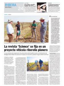 Artículo en Diario de Burgos